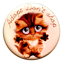 Adopt don't shop – Badge