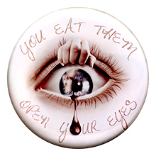 Open your eyes – Badge