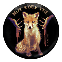 Anti-fourrure – Badge