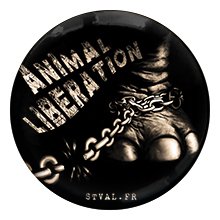 Liberation Animale – Badge