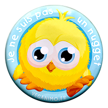 Pas un nugget- Badge