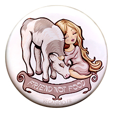 Friend not food – Badge
