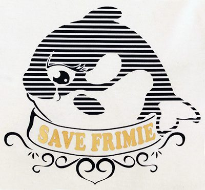 Orque « Save Frimie » T-shirt enfant en coton bio