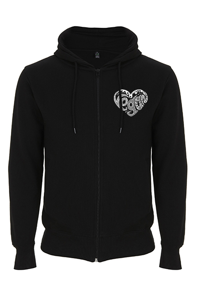 Coeur vegan – Sweat zippé