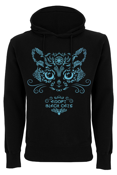 Adopt Black Cats – Sweat à capuche homme