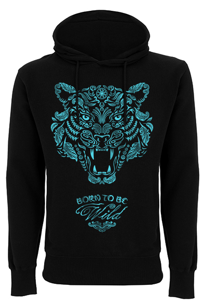 Born to be wild – Sweat à capuche homme