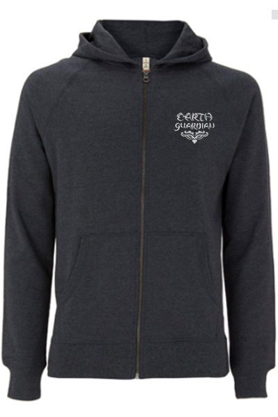 Earth Guardian – Sweat zippé unisex 100% recyclé