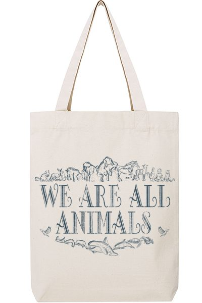 We are all animals – Sac recyclé
