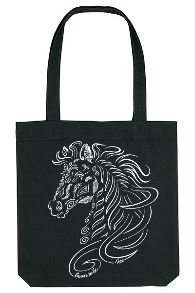 Cheval « Born to be free » Sac 100% recyclé (Copie)